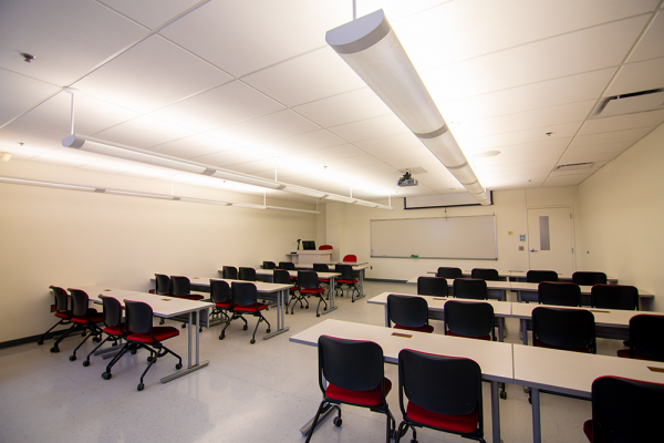 William F. Walsh Science Center Classrooms
