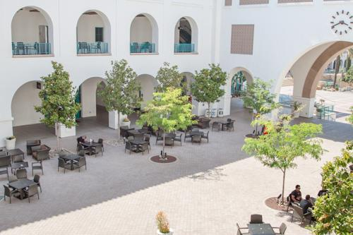 Aztec Student Union: Entry Courtyard