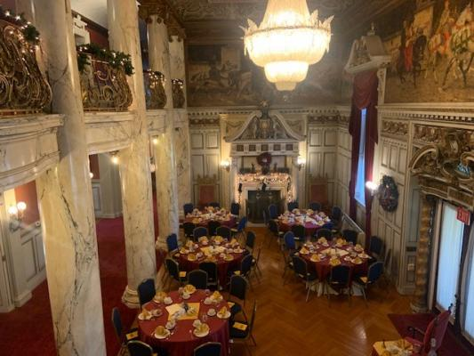 Mansion Set for an Event