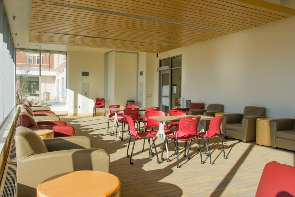 Nugent Residence Hall - Beckwith Lounge