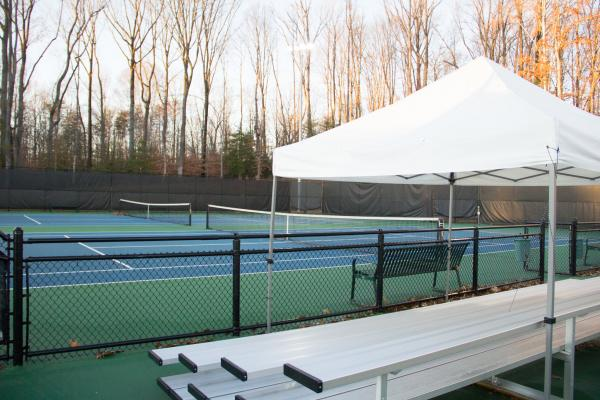 Tennis Courts at GMU West Campus Park - Sports & Recreation