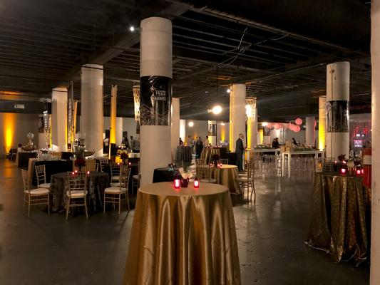 The Cellar during Taste of the Hawks event