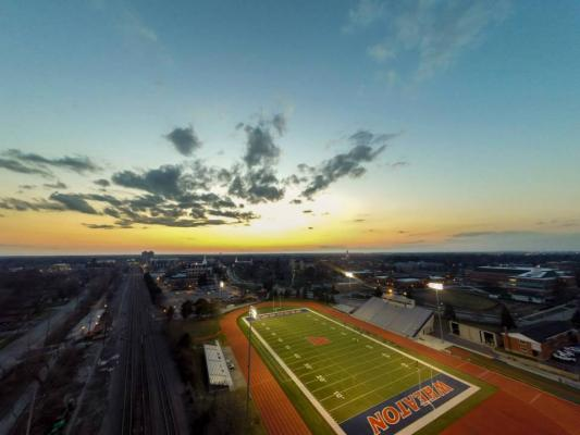 McCully Football Field, Track