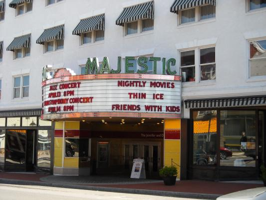 Majestic Theater Marquee Gettysburg, Pennsylvania