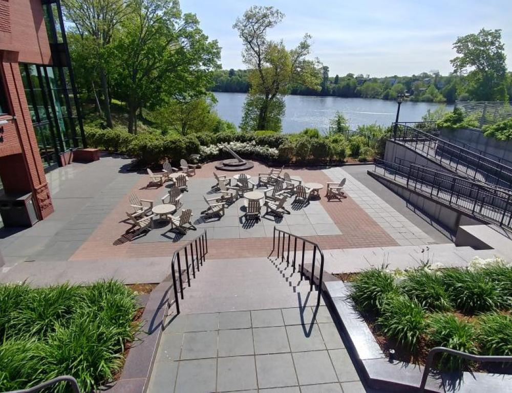 The Plaza at the Flynn Campus Union