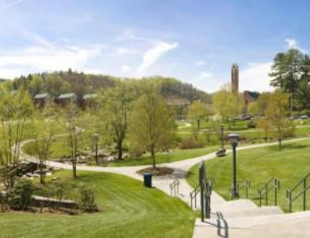 Beautiful green spaces and a commitment to sustainability are cornerstones of Appalachian State.