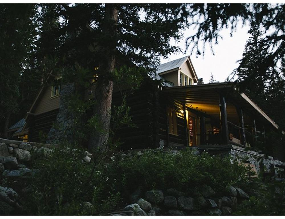 """""""Day is Done"""" - Wasatch Mountain Lodge"""