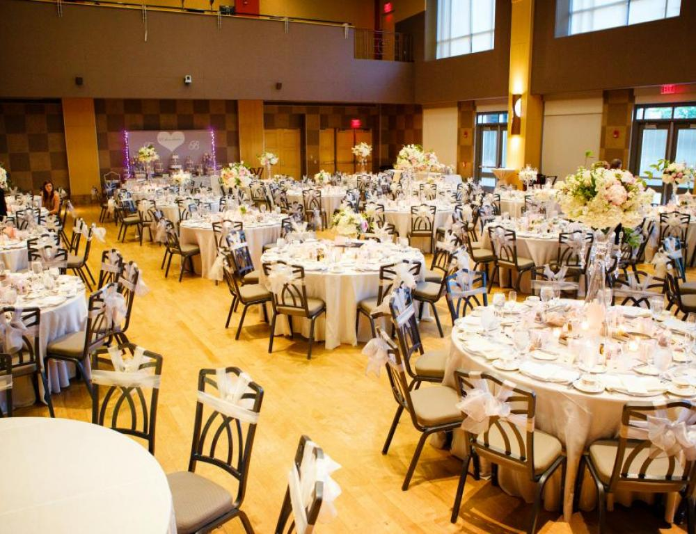 Performance Hall Wedding Reception