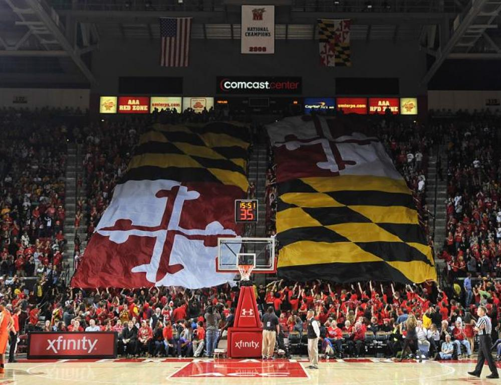 Maryland Pride becomes yours at the Xfinity Center.