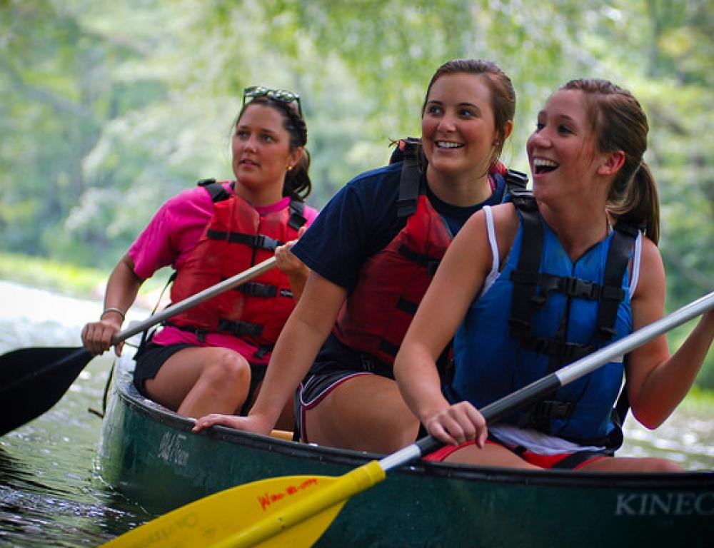 Canoe the Roanoke River