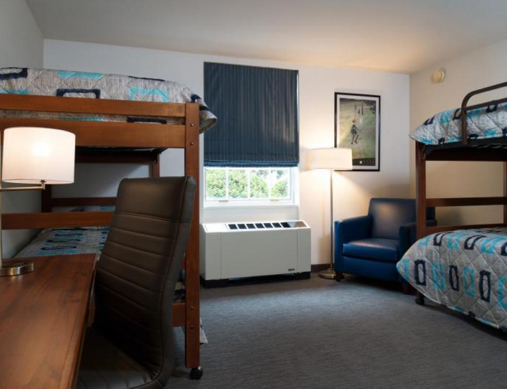 Bunk Style Hotel Rooms
