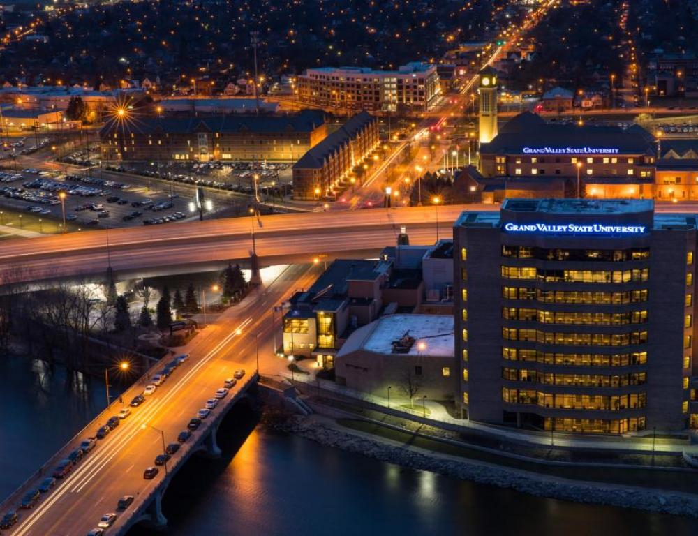 Pew Campus in the heart of downtown Grand Rapids