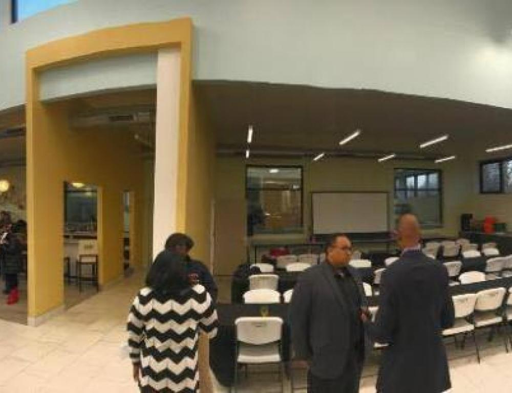 Panoramic View of our venue space