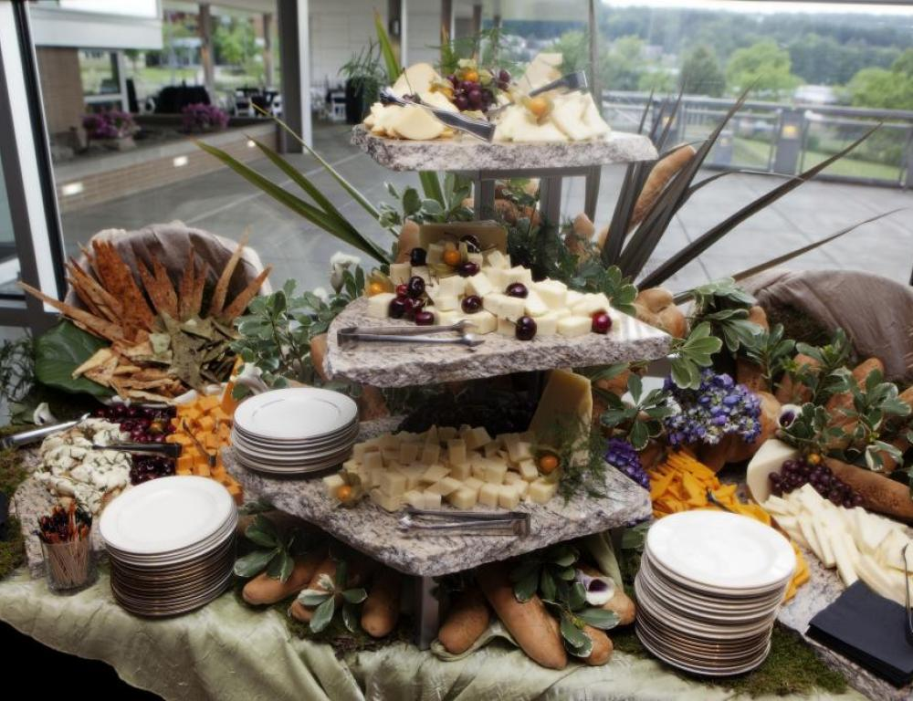 Catering services display