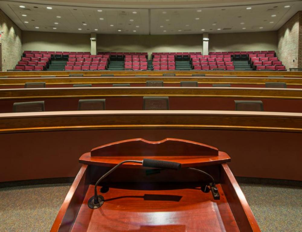 L.V. Eberhard Center - Teleconference Auditorium