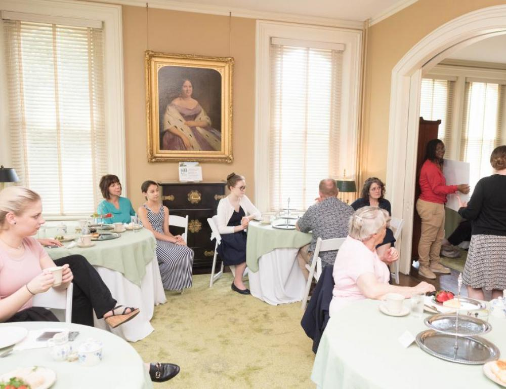 Historic Event Space in Tudor Place Parlor