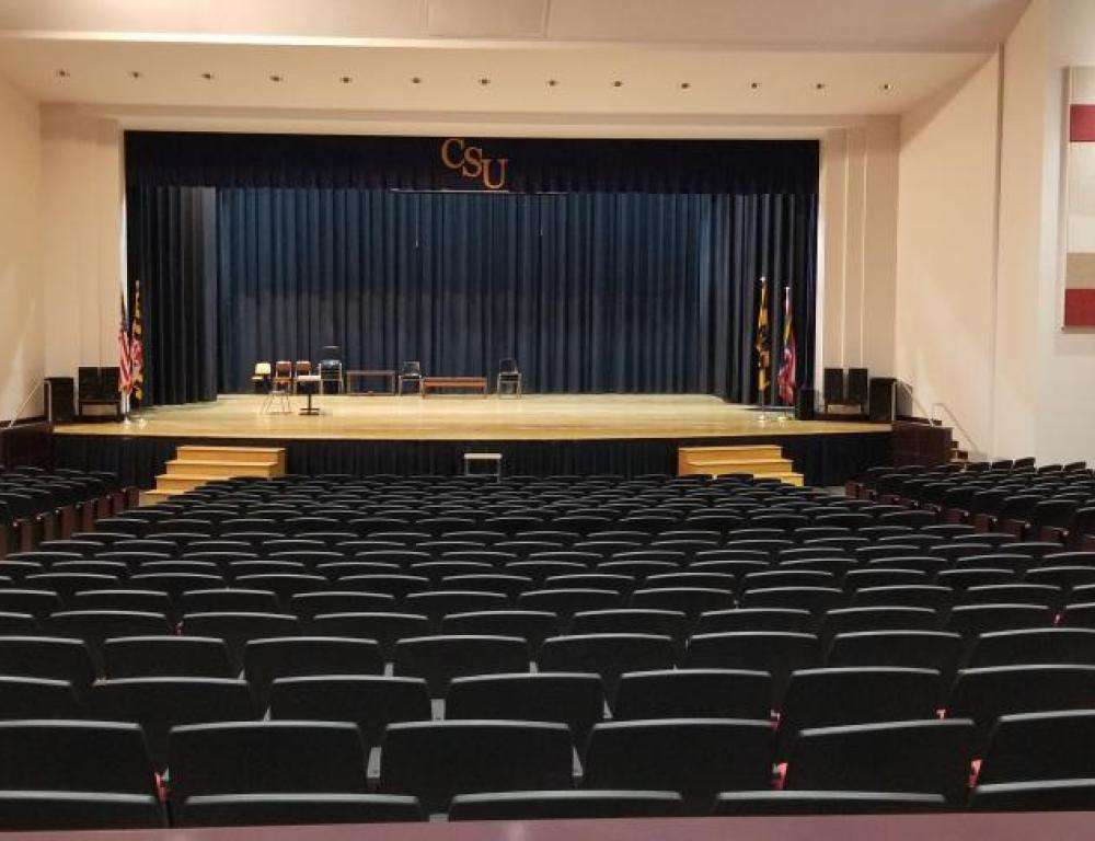 James Weldon Johnson Auditorium is the perfect location for a play or recital.