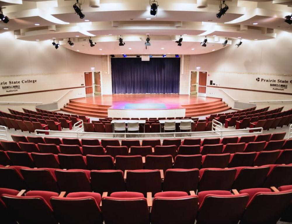 Barnes and Noble College Auditorium
