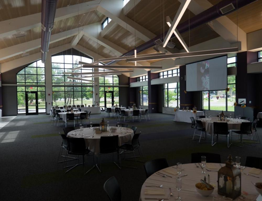 Niagara University- Special Events space, Russell J. Salvatore's Dinning Addition
