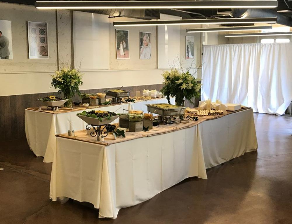 Beautiful setting inside the Carriage House for a premier wedding