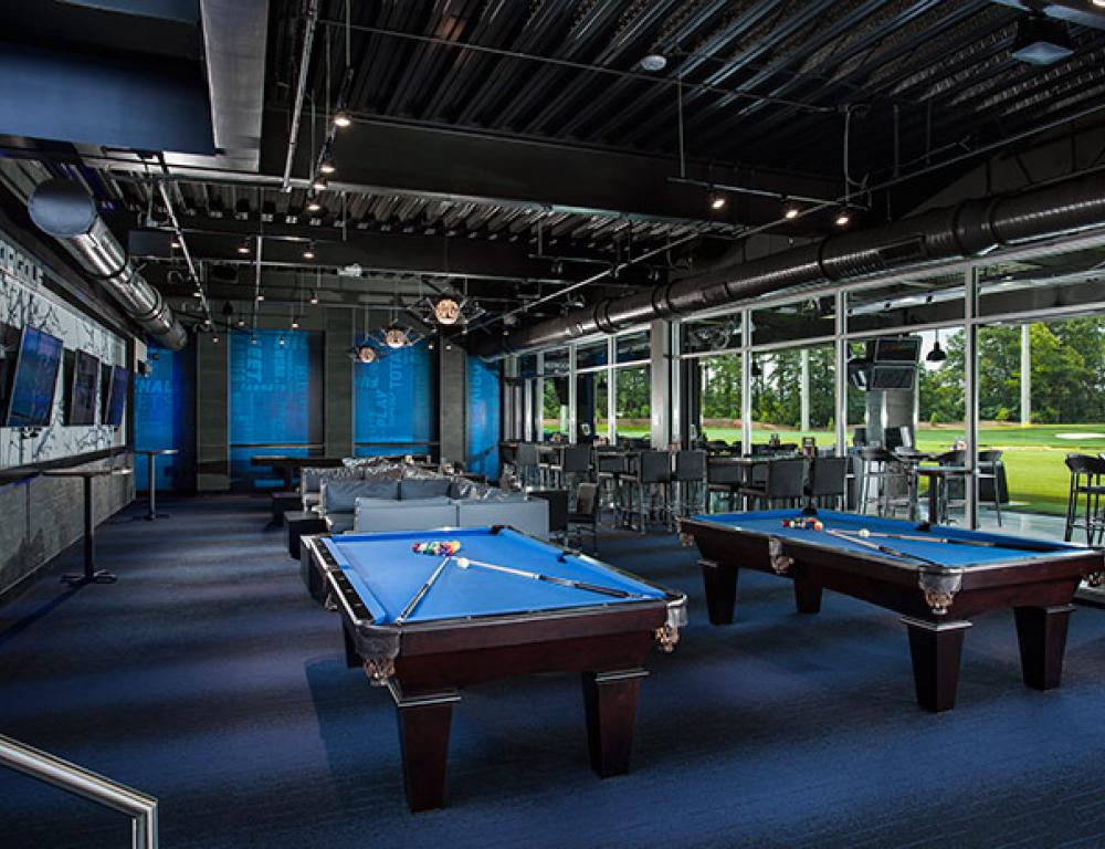 Topgolf Atlanta - Midtown Lower Lounge