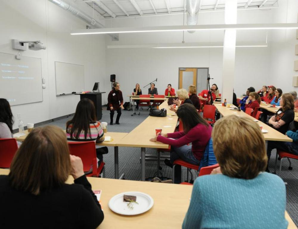 Classroom at The Point at Otterbein University