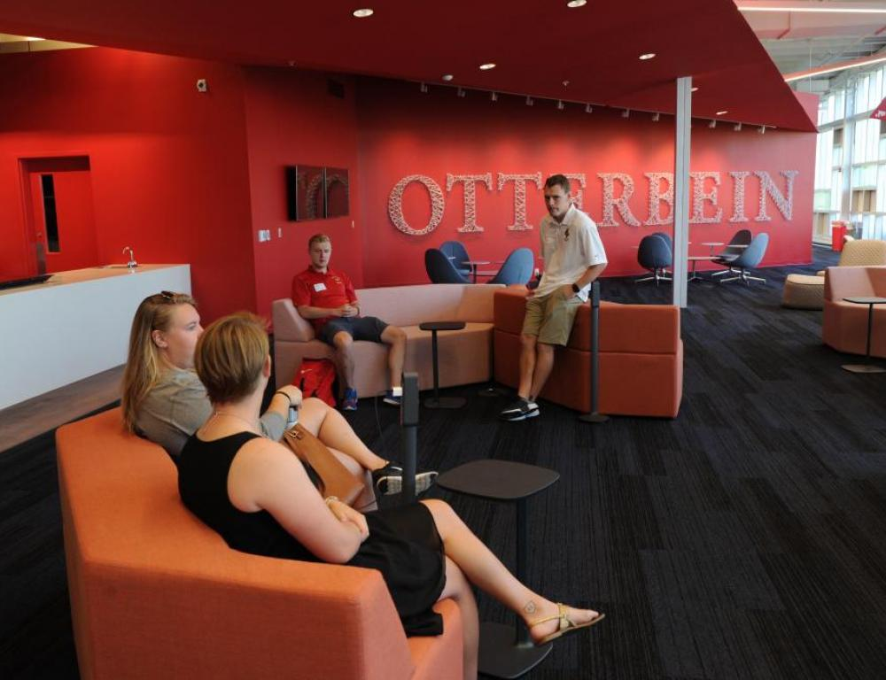 The Point at Otterbein University Lounge Space