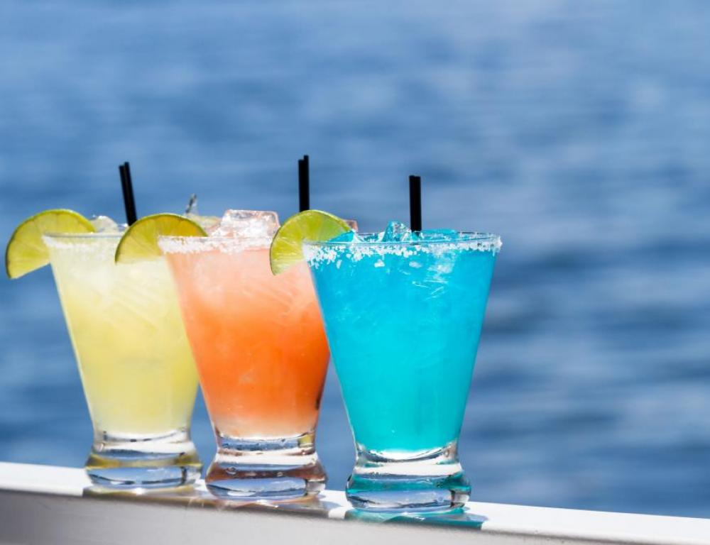 Tropical Drinks on a Sunny Day!