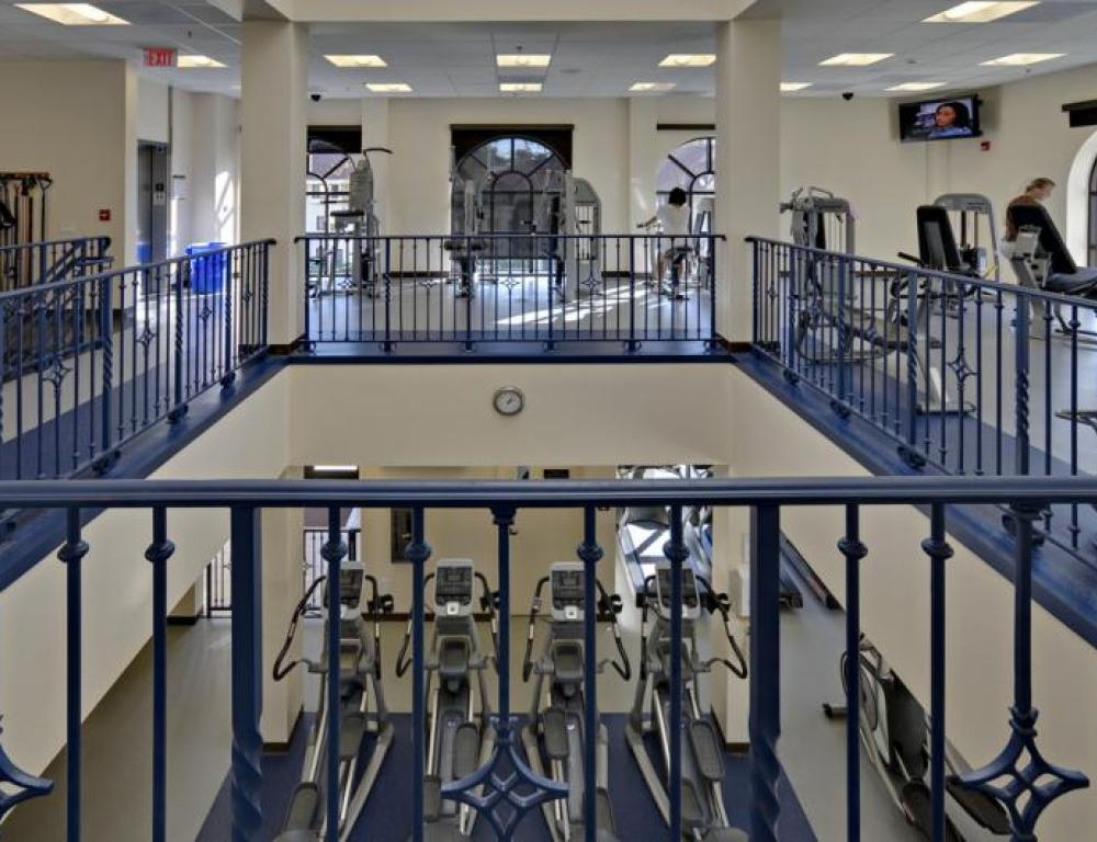 Mission's Fitness Center