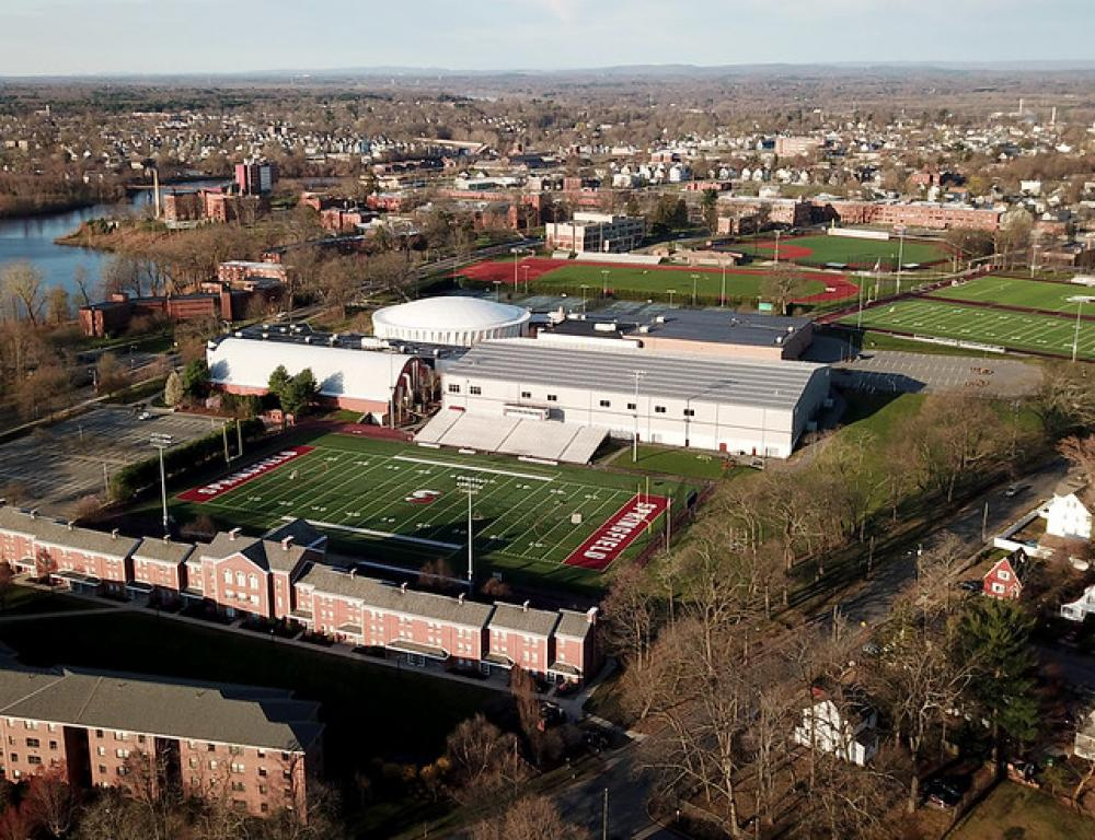 Athletic Facilities and Residence Halls by air