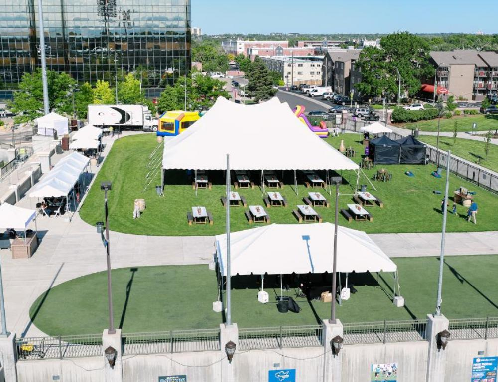 Outdoor event space- Festival Plaza