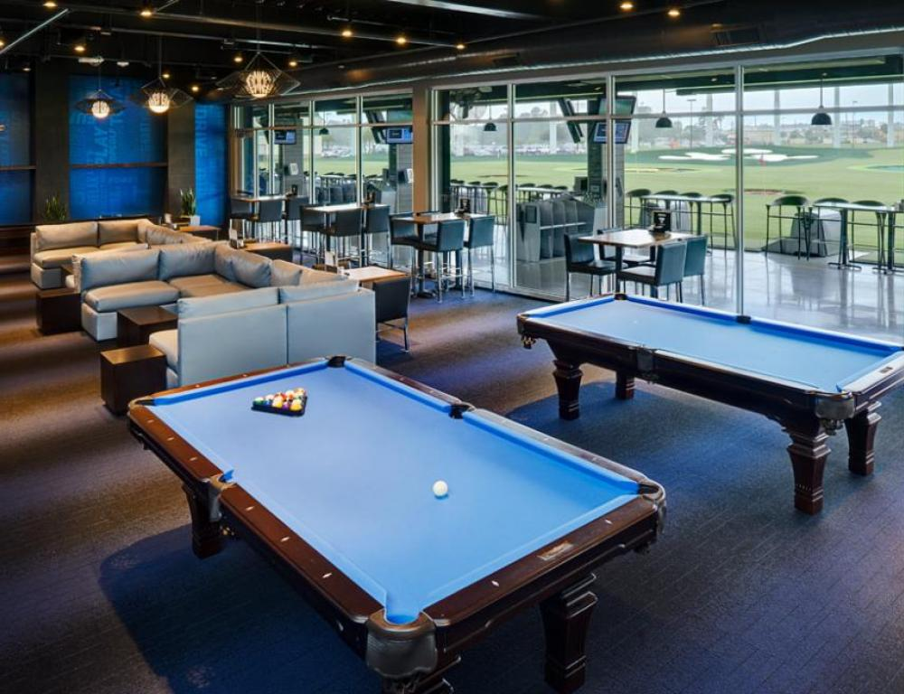 Topgolf Lower Lounge