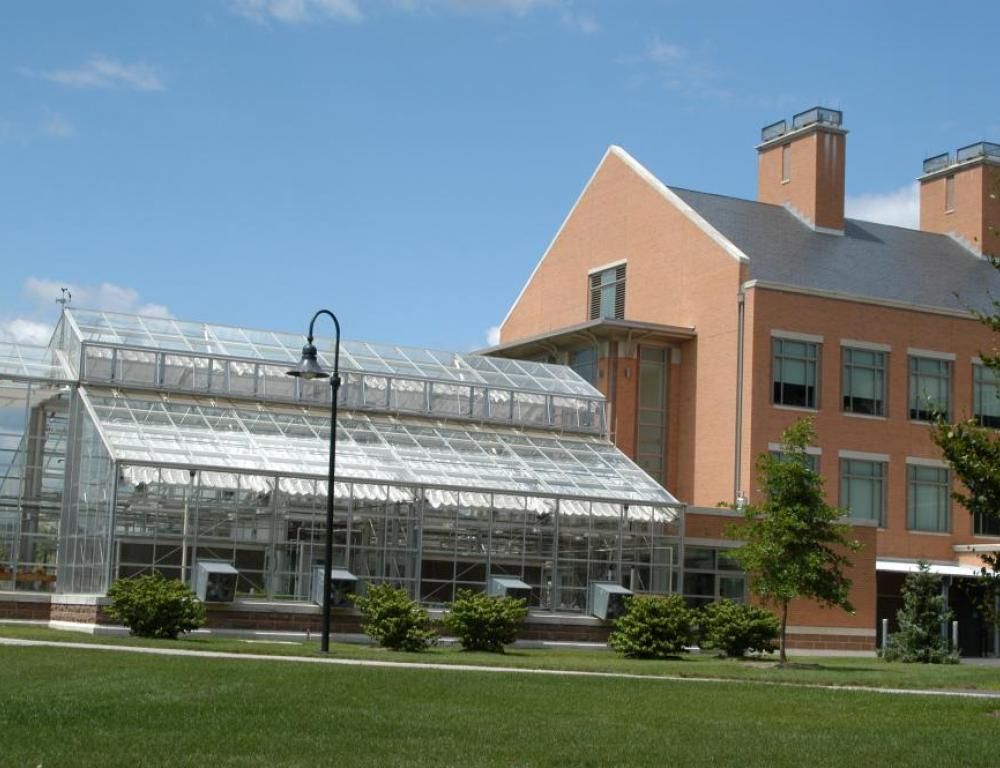 Science Center Back with Green House