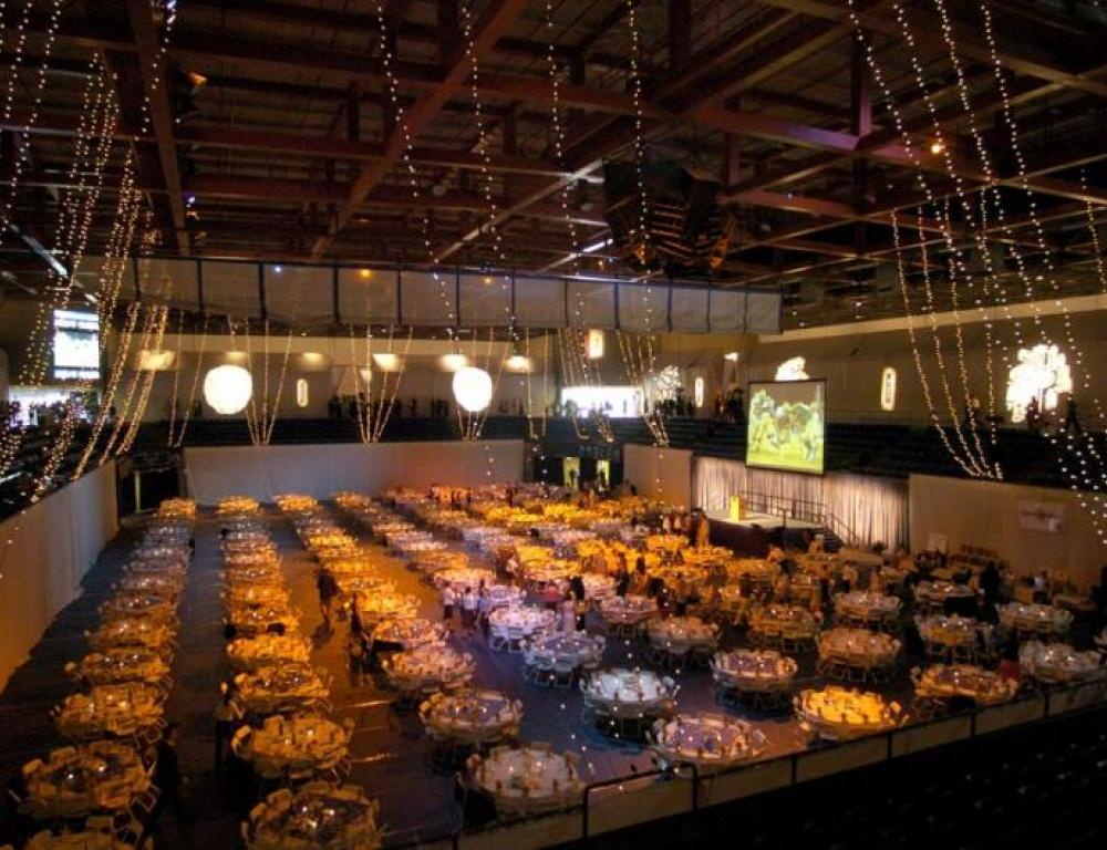 ARC Pavilion - More than 150,000 square feet of space for gala dinners, concerts, auctions, tradeshows, conferences, commencements and athletic events