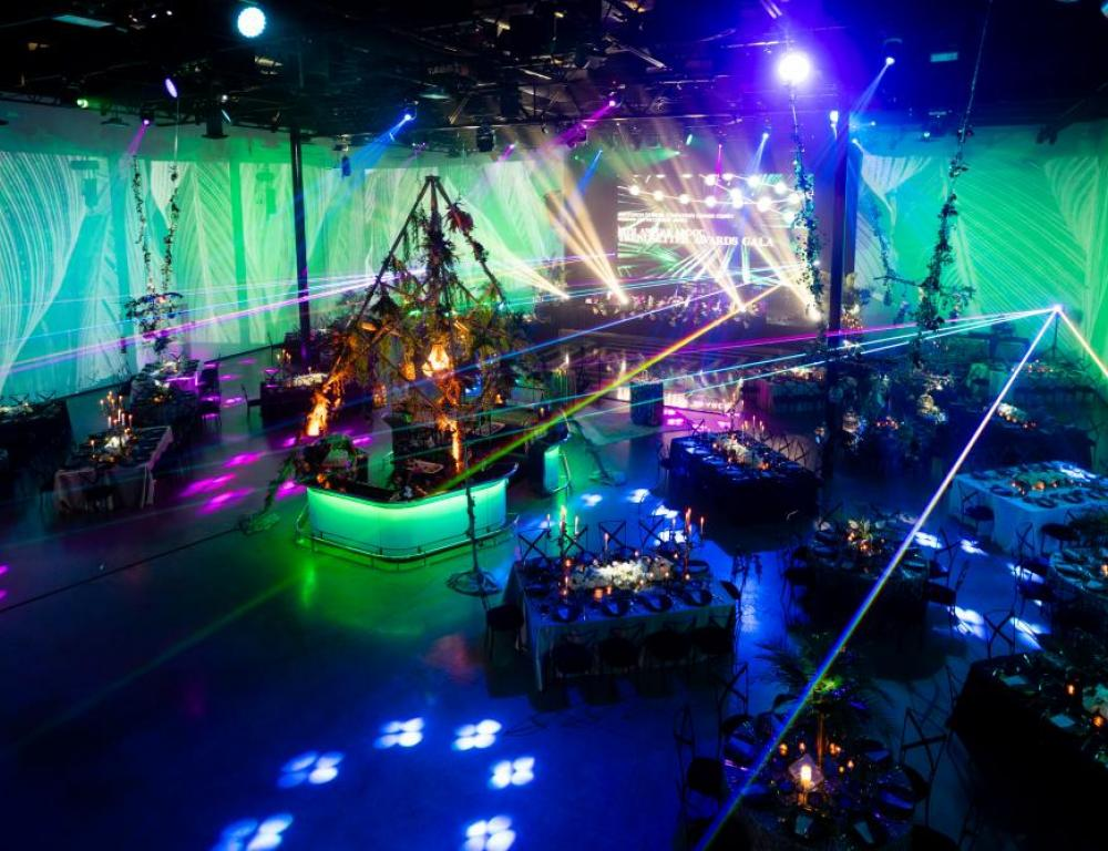 Check out all the lighting possibilities for your event at [AV] Irvine