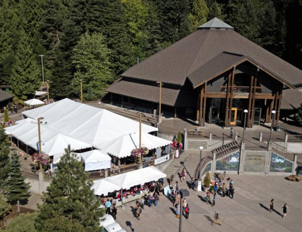 Our Central Plaza, with its 40 x 80 tent, offers a wide open space for a variety of events.