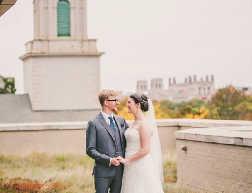 Rooftop Patio - Wedding