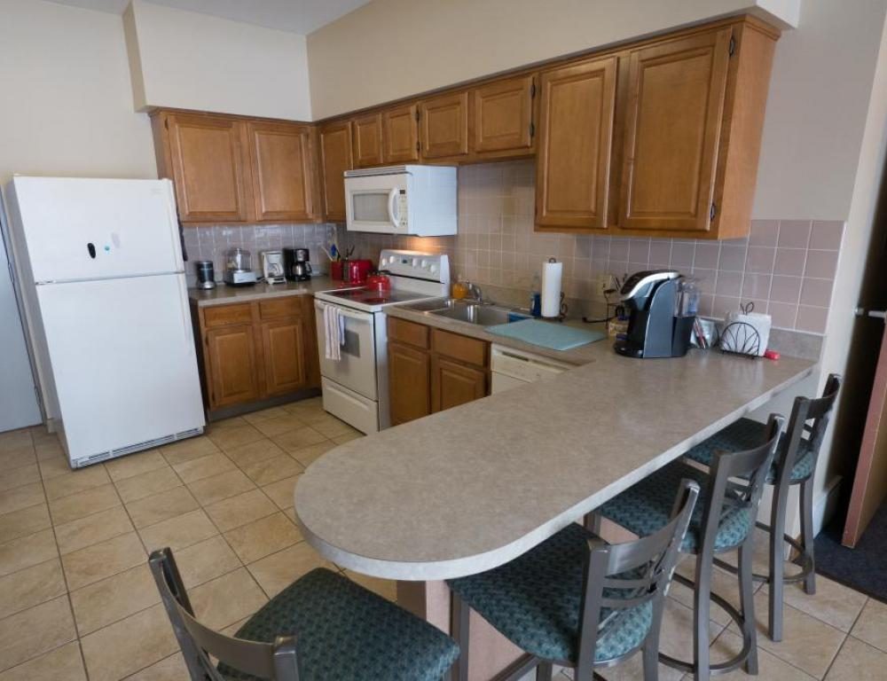 Niagara University Kitchen in Apartment unit