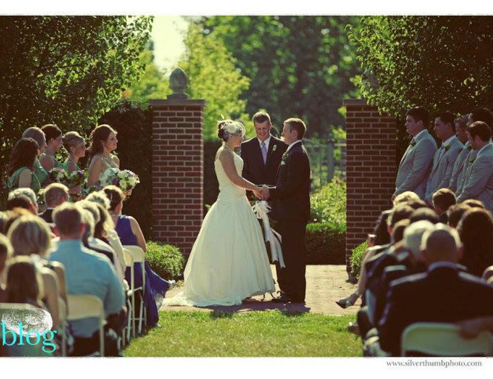 Arboretum English Garden Ceremony
