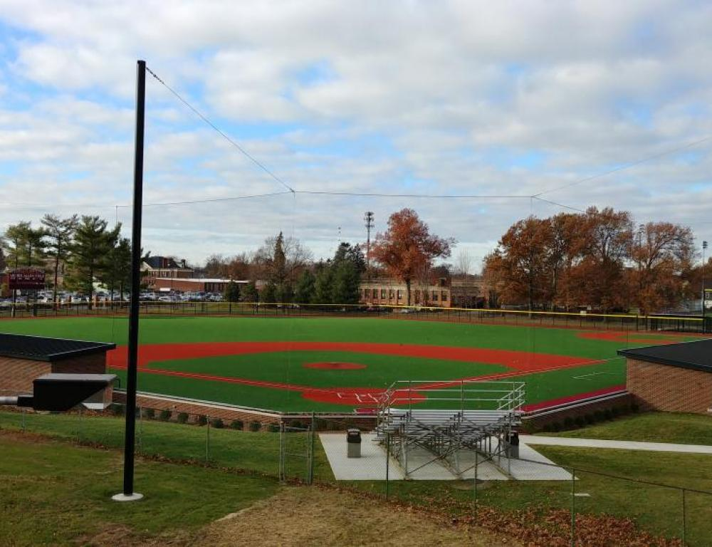 "The Archie Allen Baseball Field includes The Aschermann Family Field - ability field that was funded by the Cal Ripken Sr Foundation.  It has a wireless daktronics scoreboard with stadium quality sound and is the only 90"" diamond is Western Massachusetts with an artificial surface."