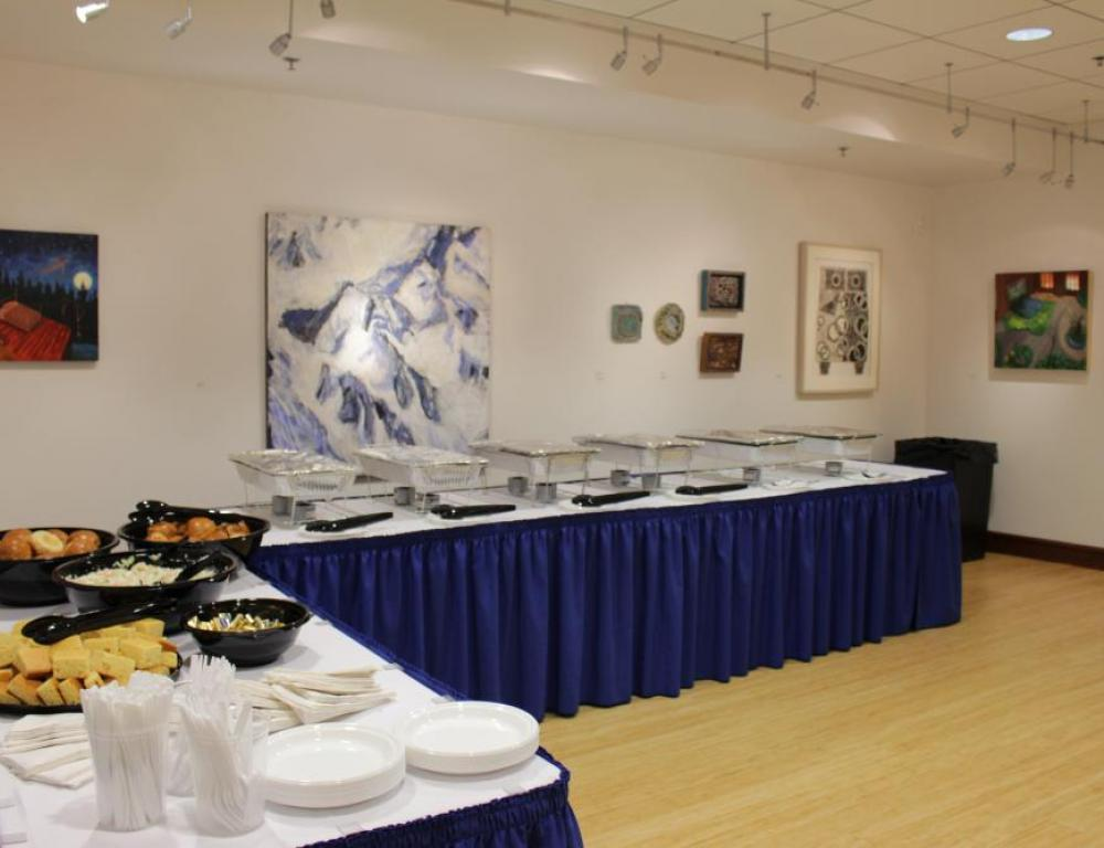 Art Gallery Buffet Area