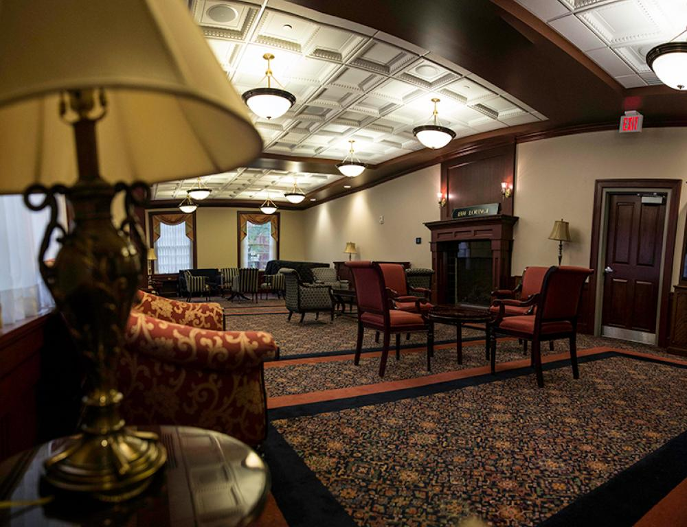 1804 Lounge in Baker University Center