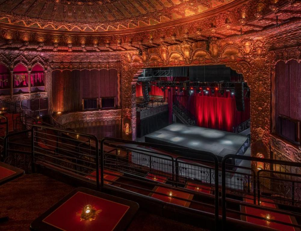 Main Room - Balcony to Stage