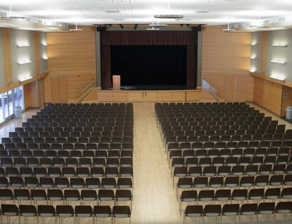 The 8,500-square-foot ballroom in Smith Memorial Student Union.