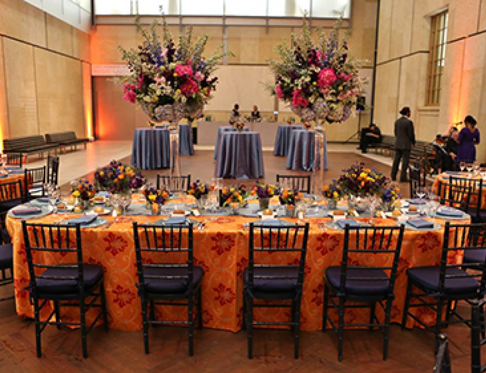 Reception and Dinner in The Court
