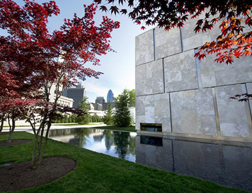 Stunning gardens and reflecting pools