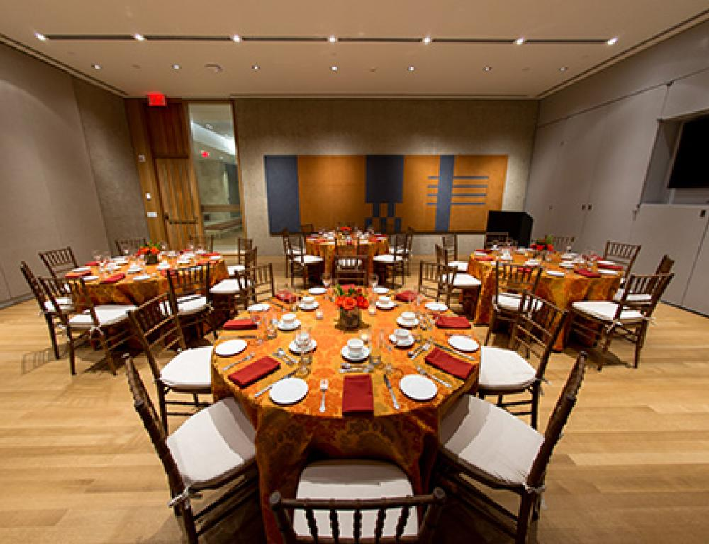 Private Dining in the Seminar Room