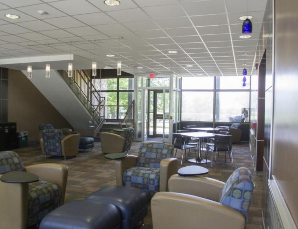 Lobby of Biddle Hall