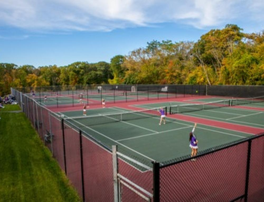 Trent J. Scott '96 Tennis Courts