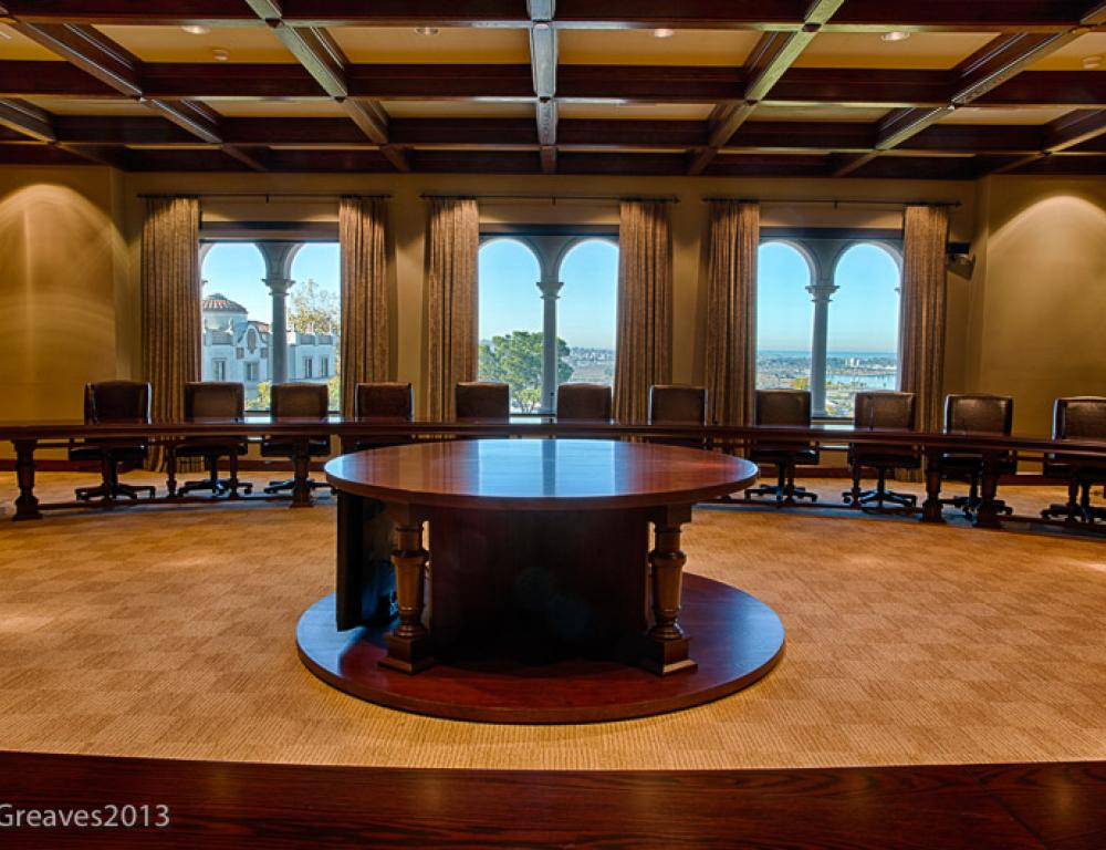 Boardroom at Kroc Institute of Peace and Justice